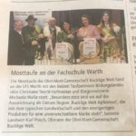 Bauernzeitung - Mosttaufe 2020